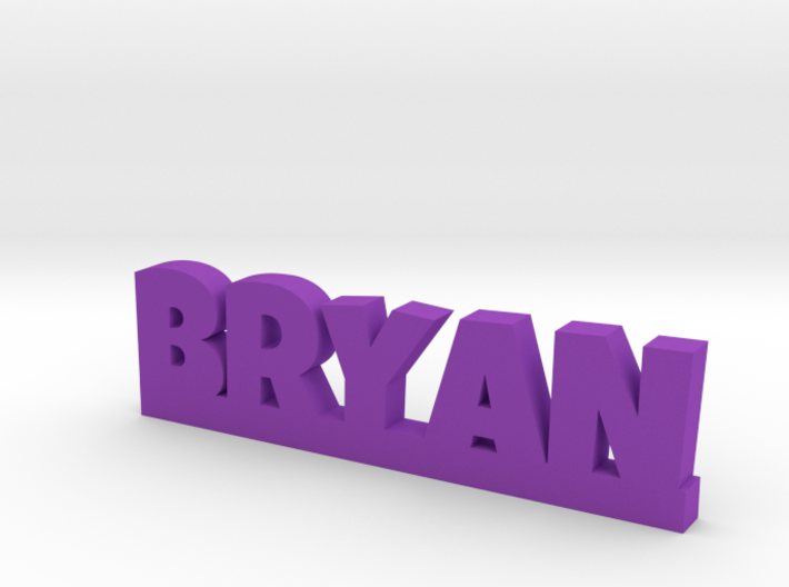 BRYAN Lucky 3d printed