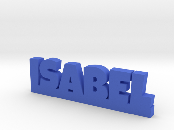 ISABEL Lucky 3d printed