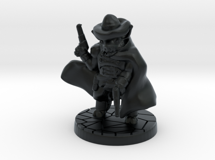 Sand, Pigman Gunslinger (15mm/1:100 scale) 3d printed
