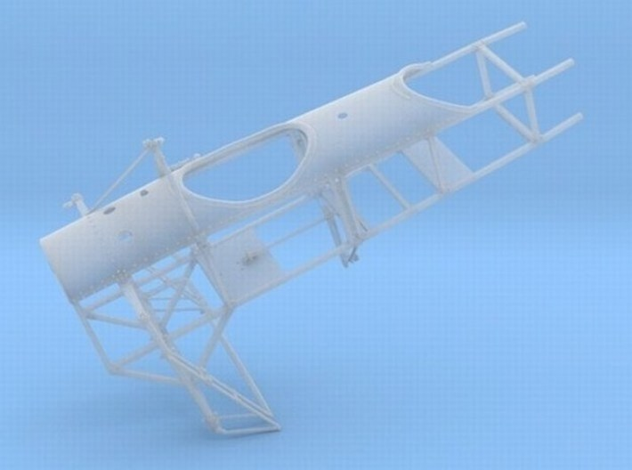 1/18 scale Bleriot XI-2 WWI model kit #3 of 3 3d printed