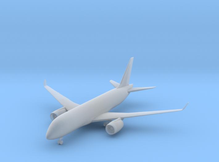 Bombardier CS100 - 1:500 scale 3d printed