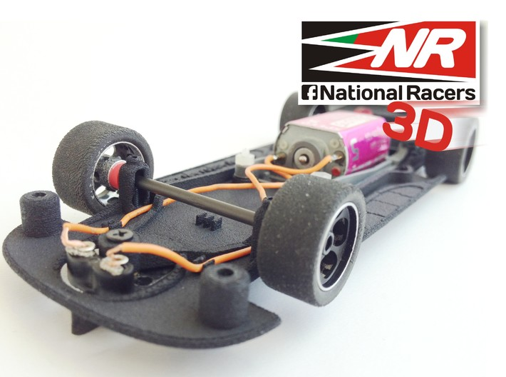 3D Chassis - SCX Ford FUSION 2006 (Combo) 3d printed