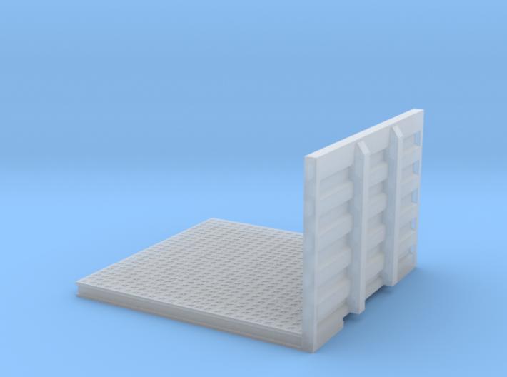 1/64th Drom Headache Rack Deck for Semi tractor 3d printed