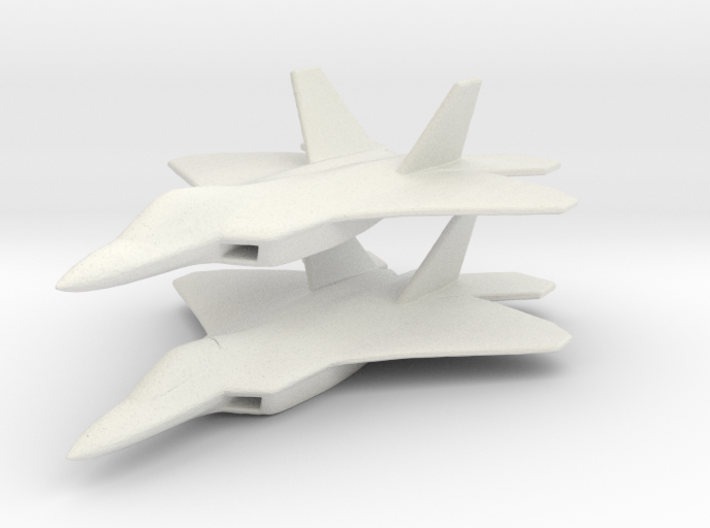 1/350 F-22 Raptor Fighter X 2 3d printed