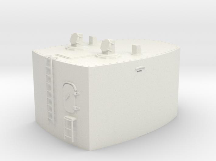 1/32 Germany Cabin 10.5m Rangefinder w. Mast 3d printed