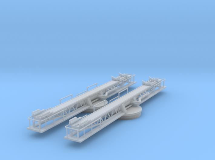 1/192 USN P-6 Catapult 3d printed