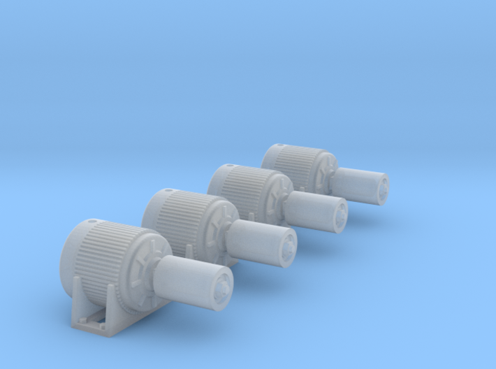Electric Motor V1 - 4ea 3d printed