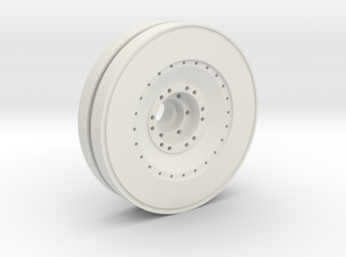 E-100 outer wheel 3d printed