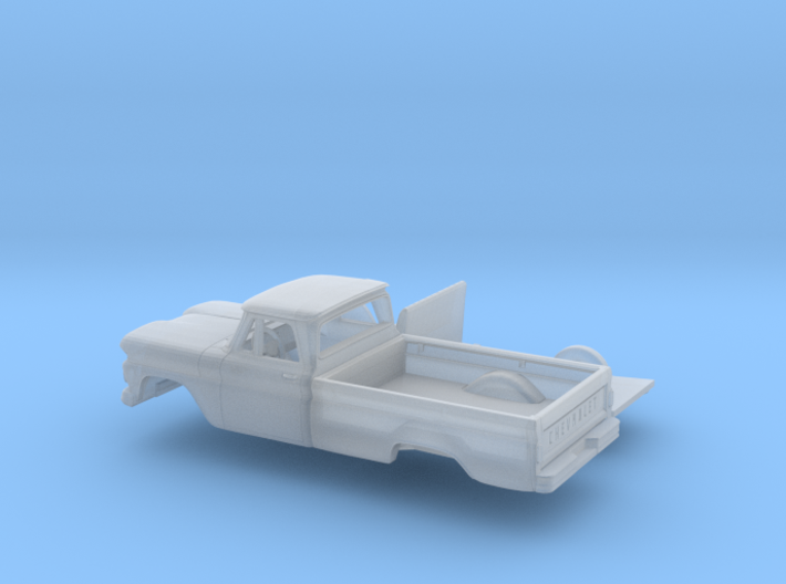 1/160 1960-61 Chevrolet C-10 Fleetside Three Piece 3d printed