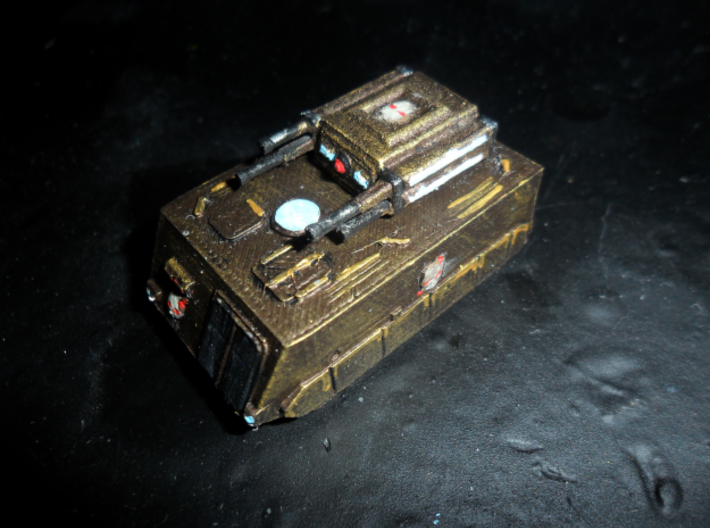 MG144-Aotrs13A Vampire Lord 3d printed Hull Replicator 2, turret WSF