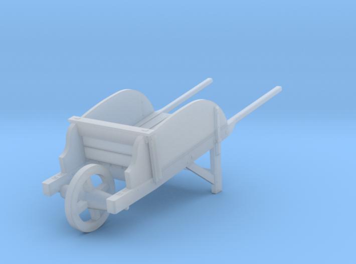 18th Century Wheelbarrow w/ Sides 1/35 3d printed