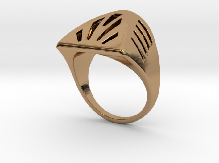 Breathing Ring S B 3d printed