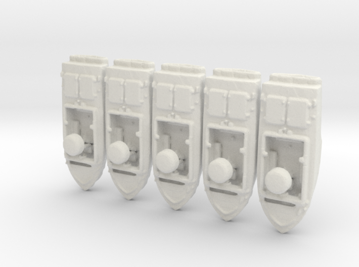 1/285 Scale Seal Support Craft Set Of 5 3d printed