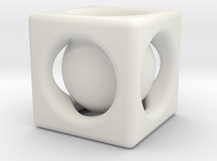 Ball In Cube 3d printed