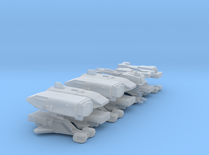 Special Request - Small Ship Mix 3d printed