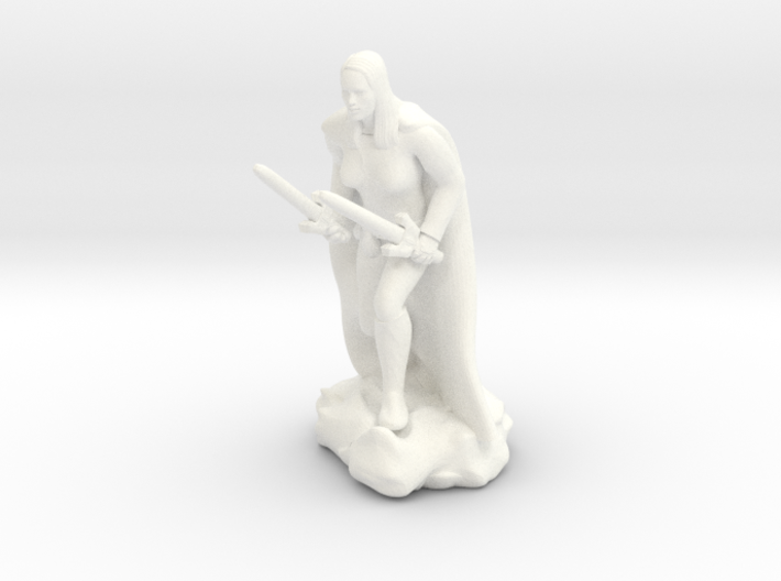 Female Human Rogue 3d printed