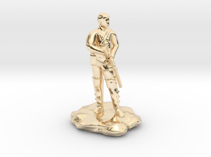 Human Ranger with Katana 3d printed