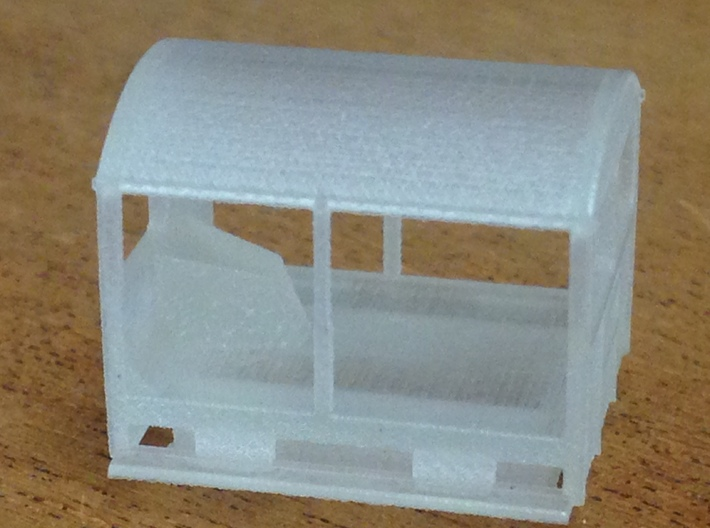 Wickham Trolley Car N (other gauges, lower price 3d printed