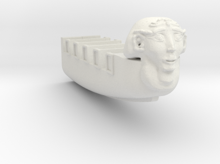 Pharoas Furry boat half for scratch builders 3d printed