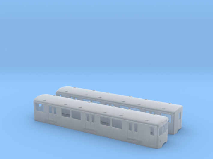 Berlin Baureihe D  TT [2x body] 3d printed