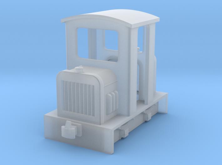 HOf diesel loco 3 3d printed