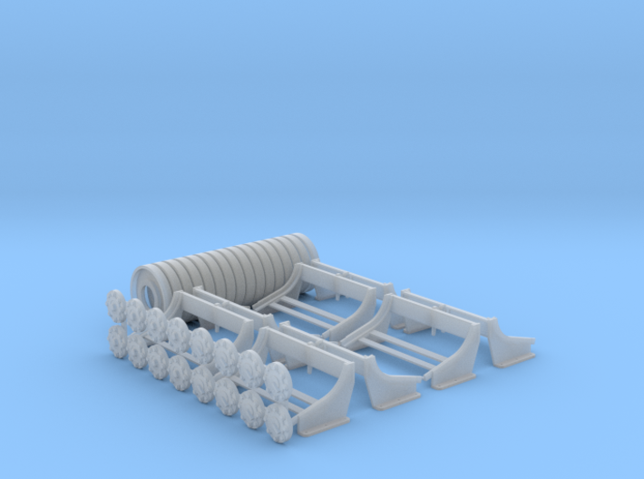 1:16 Depth Charges, Set of 8, PT Boats 3d printed
