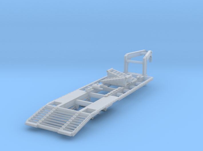 1/50 scale 25 foot 2-axle gooseneck trailer 3d printed