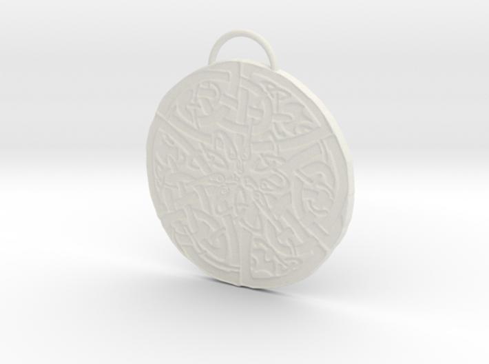 Celtic Knot Pendant 5 3d printed