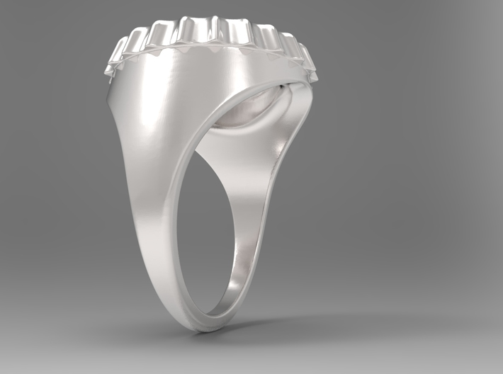 Beer Cap Ring S B 3d printed