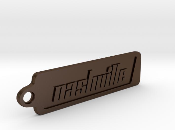 Nashville, Tennessee Keychain 3d printed