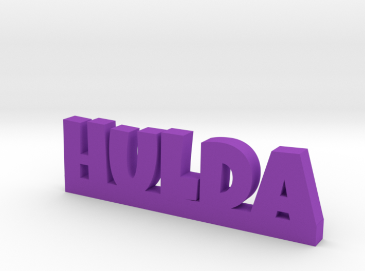 HULDA Lucky 3d printed