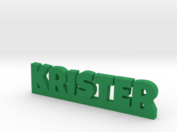 KRISTER Lucky 3d printed