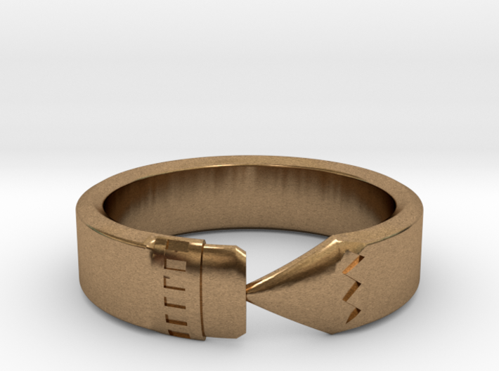 Pencil Ring, Size 5 3d printed