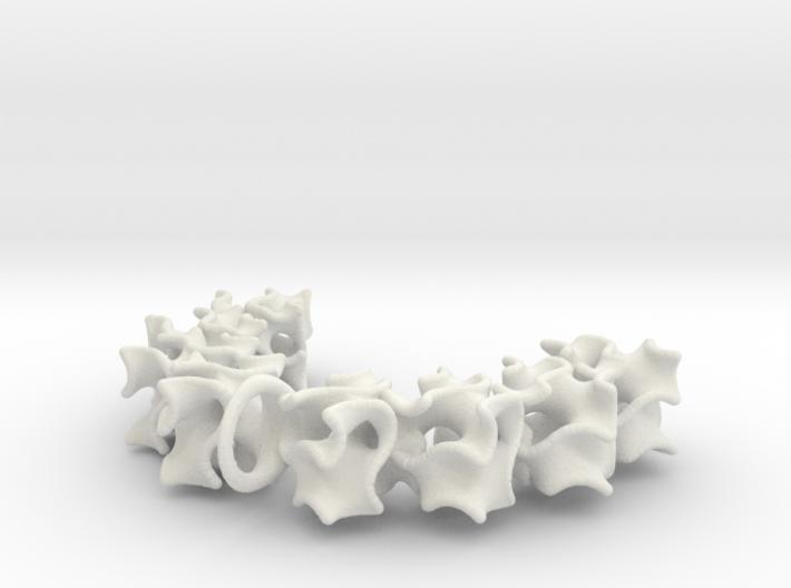 Gyroid Pendant 3d printed
