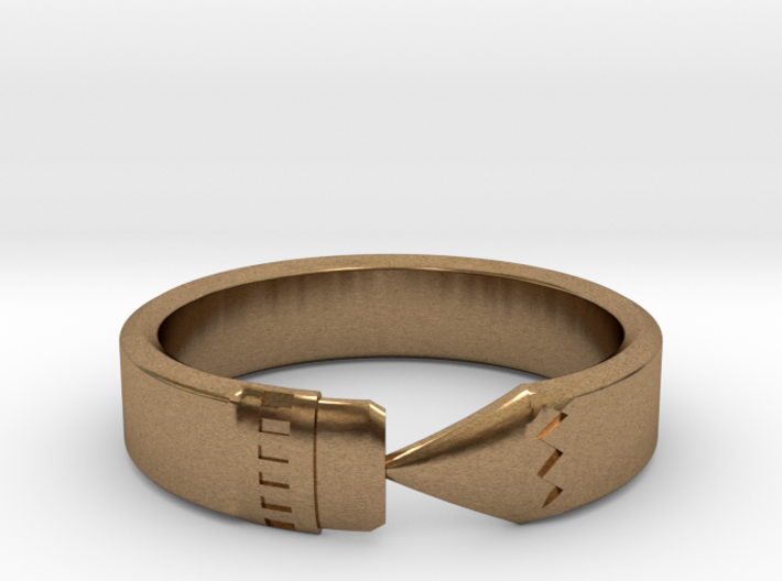 Pencil Ring, Size 7.5 3d printed