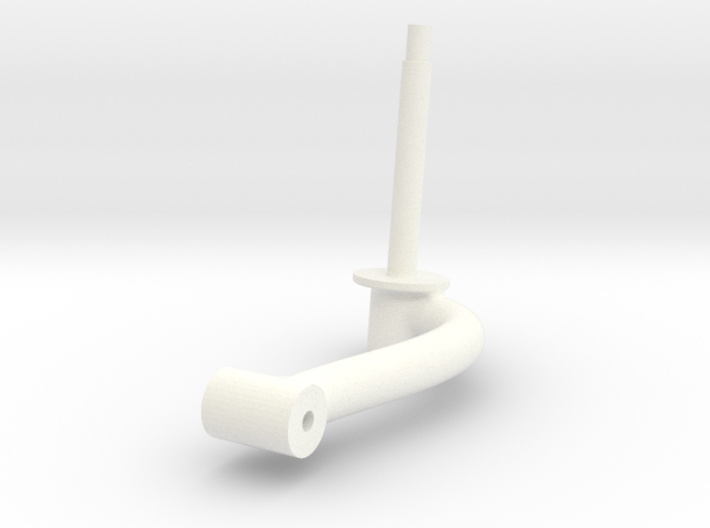 Wessex Tail Wheel Hub 3d printed