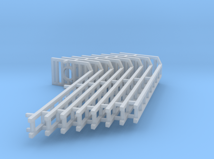 Signal Ladders 8 pack  HO Scale 1/87 3d printed