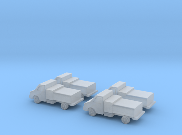 GSE 1:400 Water Truck (4pc) 3d printed