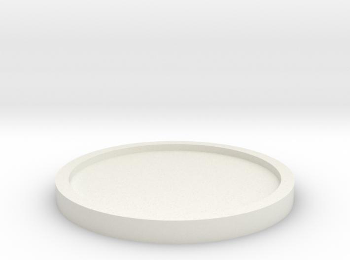 Coaster Basic Thin 3d printed
