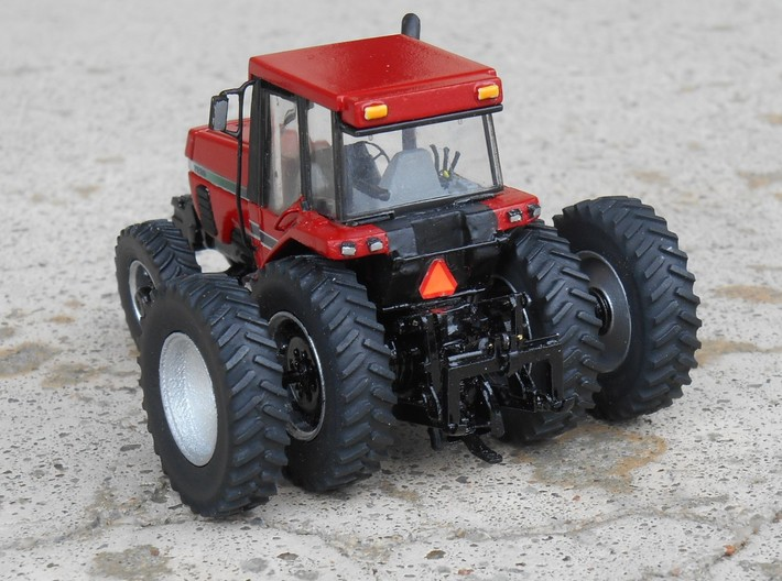 1/64 Scale 42 Inch Rear Wheel and Tire Set 3d printed