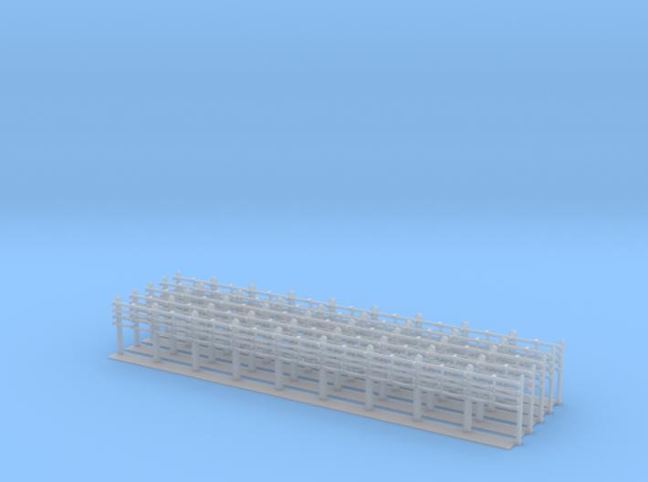 LU4Cablepost Tall X5 3d printed