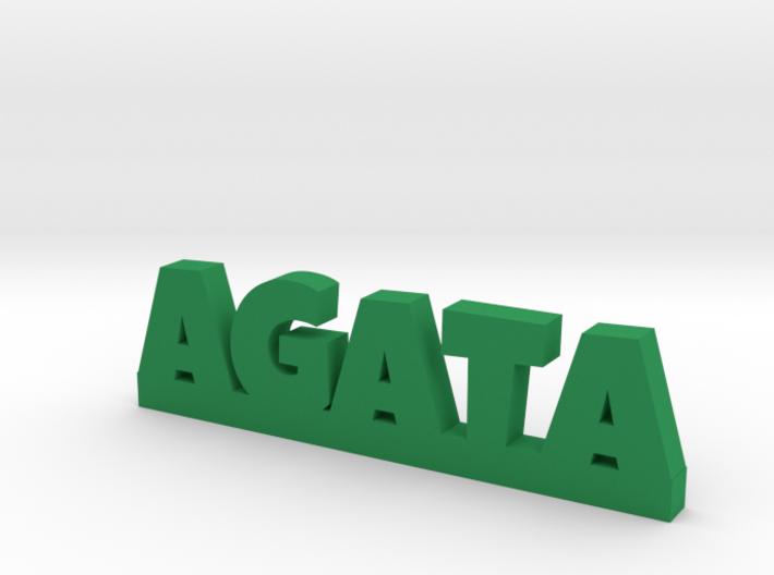 AGATA Lucky 3d printed