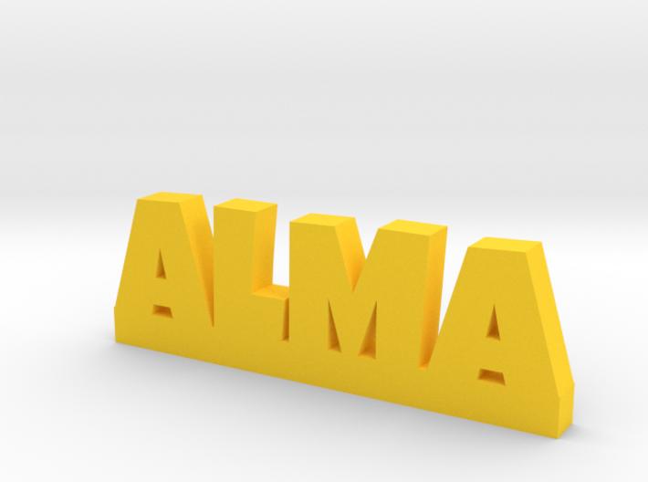 ALMA Lucky 3d printed