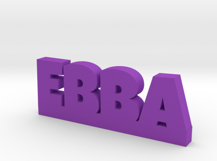 EBBA Lucky 3d printed