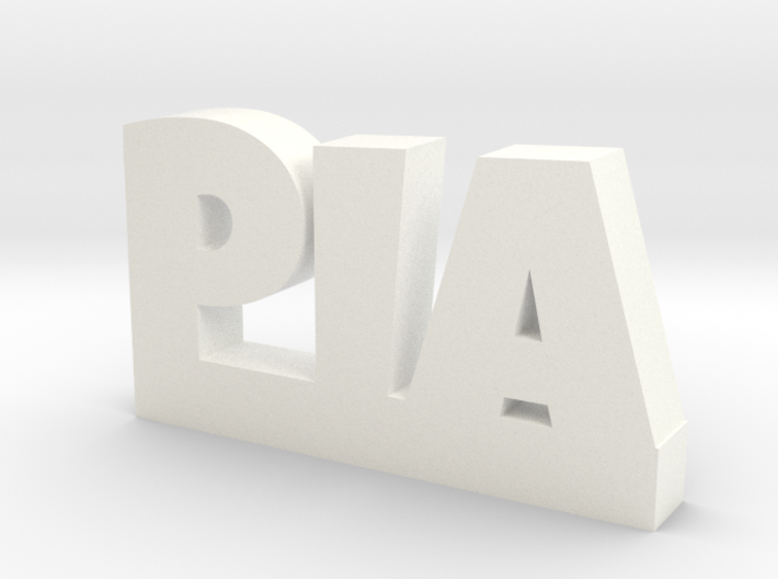 PIA Lucky 3d printed