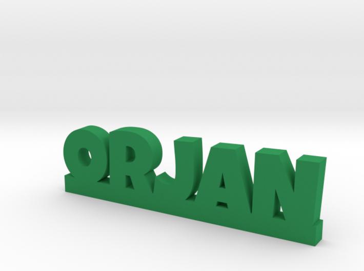 ORJAN Lucky 3d printed
