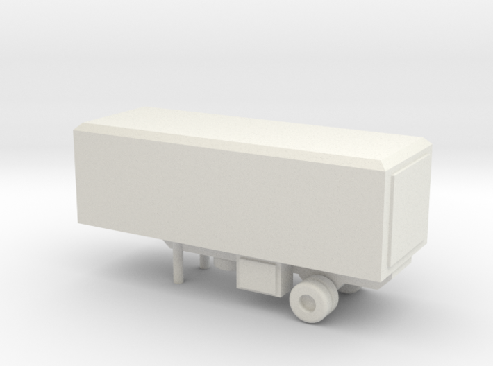 1/144 Scale M119 Trailer 3d printed