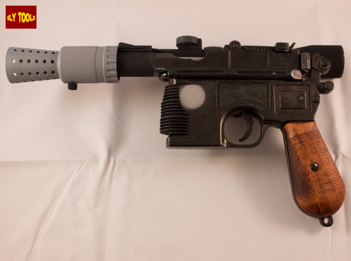 ANH Scope Pro Version - Lenses 3d printed Full DL-44 ANH Blaster (NOT INCLUDED)