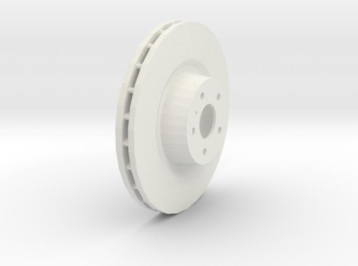 Ventilated Brake Disk 3d printed