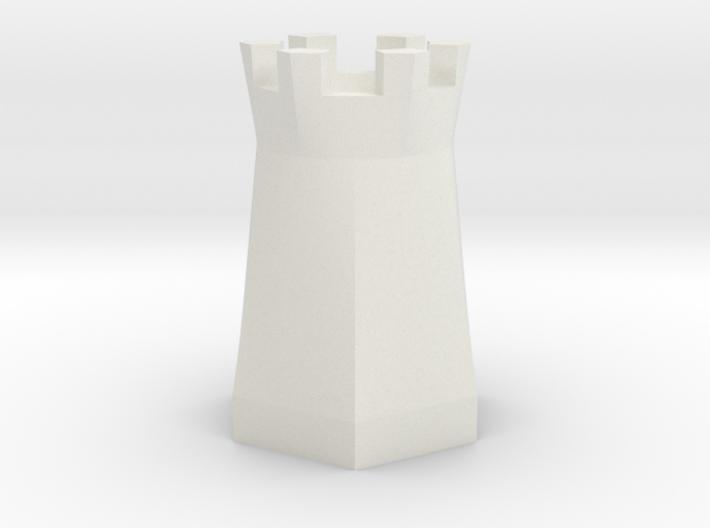 Rook 3d printed